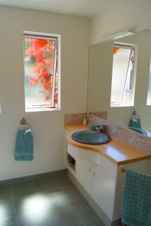 Homestay Bathroom with Shower and Toilet